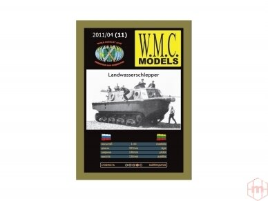 WMC - Landwasserschlepper Laser traki, Scale: 1/25, 11-1