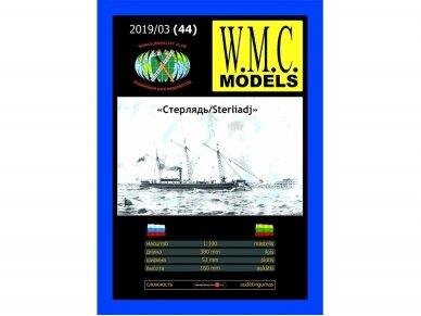 WMC - Sterliadj iš faneros Lazeriu pjautas rėmas, Mastelis: 1/100, 44-1
