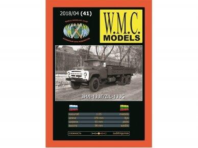 WMC - ZiL-133G Protektorius padangoms, Mastelis: 1/25, 41-1