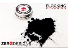 """Zero Designs - """"Flocking"""" milteliai juodi, ZD-FL001"""