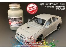 Zero Paints - Light Grey Primer 120ml. ZP-3033