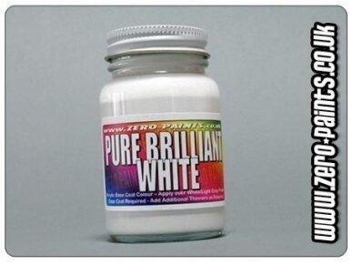 Zero Paints - Balti nitro dažai, 60ml, ZP-1026