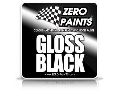 Zero Paints - Blizgūs juodi nitro dažai, 60ml, ZP-3004
