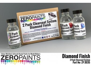 Zero Paints - Diamond Finish 2 Pack Gloss Clearcoat system 220ml, ZP-3035