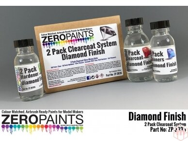 Zero Paints - Deimantinio blizgumo 2 komponentų lakas 220ml, ZP-3035