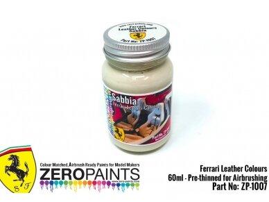Zero Paints - Ferrari Sabbia (Creme) Leather, 60ml, ZP-1007