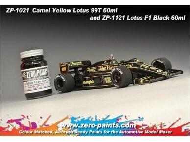 Zero Paints - Lotus F1 JPS juodi nitro dažai, 60ml, ZP-1121