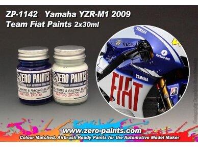 Zero Paints - Yamaha YZR-M1 Team Fiat 2009 nitro dažai, 60ml, ZP-1142