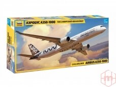 Zvezda - Airbus A350-1000, 1/144, 7020