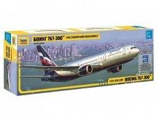 Zvezda - Civil Airliner Boeing 767-300, Scale: 1/144, 7005