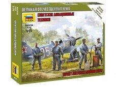 Zvezda - Soviet Air Force ground crew, 1/72, 6187
