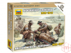 Zvezda - British Medic Team 1939-1942, 1/72, 6228
