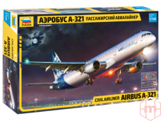 Zvezda - Civil airliner Airbus A-321, Mastelis: 1/144, 7017
