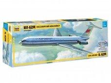 Zvezda - Civil airliner IL-62M, 1/144, 7013