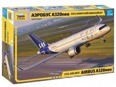 Zvezda - Airbus A320neo, 1/144, 7037