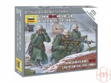 Zvezda - German MG - Crew (Winter), 1/72, 6210