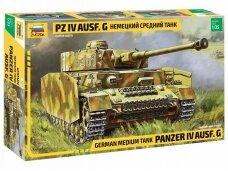 Zvezda - German Medium Tank Panzer IV Ausf. G, Mastelis: 1/35, 3674