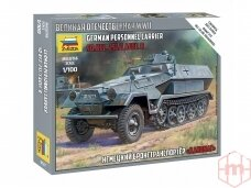Zvezda - German Personnel Carrier Sd.Kfz 251/1 Ausf. B, 1/100, 6127