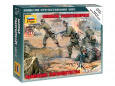 Zvezda - German Paratroops 1939-1942, 1/72, 6136