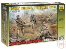 Zvezda - Soviet Medical Personnel WWII 1943-1945, 1/35, 3618