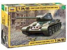 Zvezda -  T-34/85 Soviet Medium Tank (MOD 1944), Mastelis: 1/35, 3687