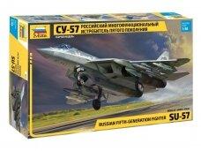 Zvezda - Su-57, Scale: 1/48, 4824
