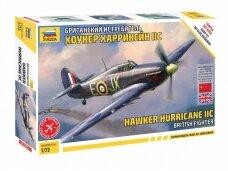 Zvezda - Hawker Hurricane IIc, 1/72, 7322