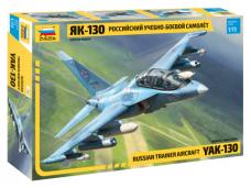 Zvezda - Russian Trainer Aircraft Yak-130, Mastelis: 1/72, 7307