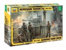 Zvezda - German Tank Crew, Scale: 1/35, 3614