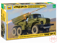 "Zvezda - Multiple Rocket Launcher BM-21 ""Grad"", 1/35, 3655"
