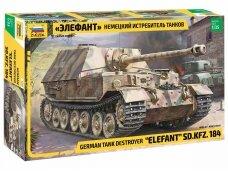 Zvezda - German Tank Destroyer Elefant, Scale: 1/35, 3659