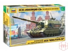 Zvezda - 2S35 Koalitsiya-SV, Mastelis: 1/35, 3677