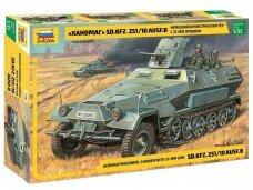 Zvezda - SD.KFZ.251/10 3.7CM PAK, 1/35, 3588