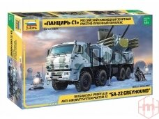 Zvezda - Pantsir S-1 (SA-22 Greyhound) Russian Anti Air System, Mastelis: 1/35, 3698