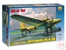 """Zvezda - Petlyakov Pe-8 ON """"Stalin's Plane"""", 1/72, 7280"""