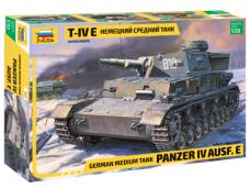 Zvezda - Pz.Kpfw. IV Ausf. E, Mastelis: 1/35, 3641