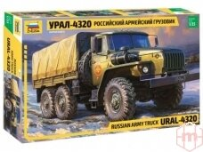 Zvezda - Russian army truck Ural-4320, Mastelis: 1/35, 3654