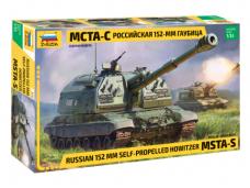Zvezda - Russian 152 mm Self-Propelled Howitzer MSTA-S, 1/35, 3630