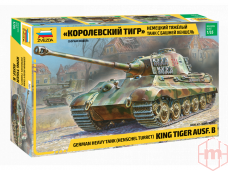 Zvezda - Panzerkampfwagen VI Tiger II (Kingtiger), 1/35, 3601