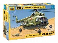 Zvezda - Soviet Multi-Role Helicopter Mi-8T Hip-C, Scale: 1/72, 7230