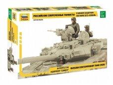 Zvezda - Russian contemporary tank crew, Scale: 1/35, 3684