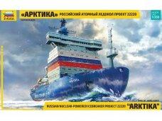 "Zvezda - Russian Nuclear Icebreaker ""Arktika"" Project 22220, 1/350, 9044"