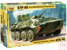Zvezda - Russian Personnel Carrier BTR-80, Scale: 1/35, 3558