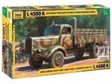 Zvezda - German Heavy Truck L4500A, Scale: 1/35, 3596