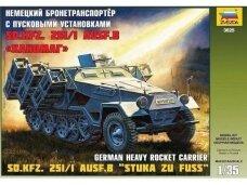 Zvezda - Sd.Kfz. 251/1 Ausf. B Stuka zu Fuss, Scale: 1/35, 3625