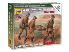 Zvezda - Soviet Medical Personnel 1941-1942, 1/72, 6152