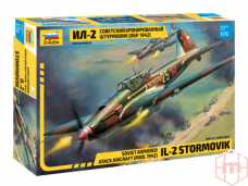 Zvezda - Soviet armored attack aircraft Il-2 Stormovik, 1/72, 7279