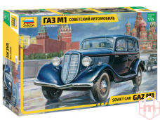 Zvezda - Soviet Car GaZ-M1, 1/35, 3634