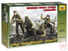 Zvezda - German Gebirgsjaeger WWII, Scale: 1/35, 3599