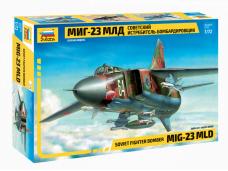 Zvezda - Mig-23MLD, 1/72, 7218